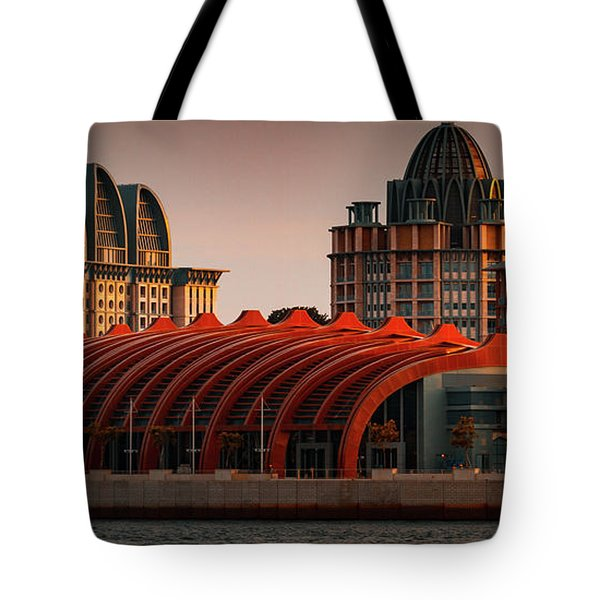 Resort World Sentosa Tote Bag
