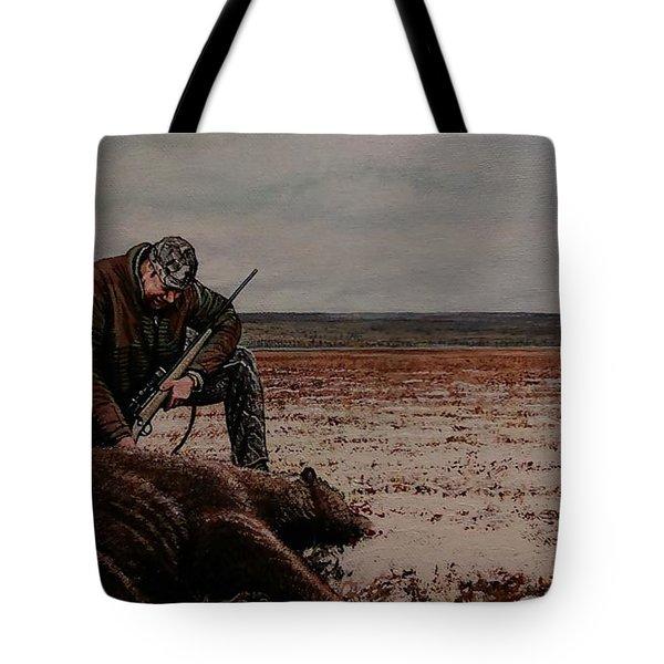 Respectfull Blessing Tote Bag by Michael Wawrzyniec