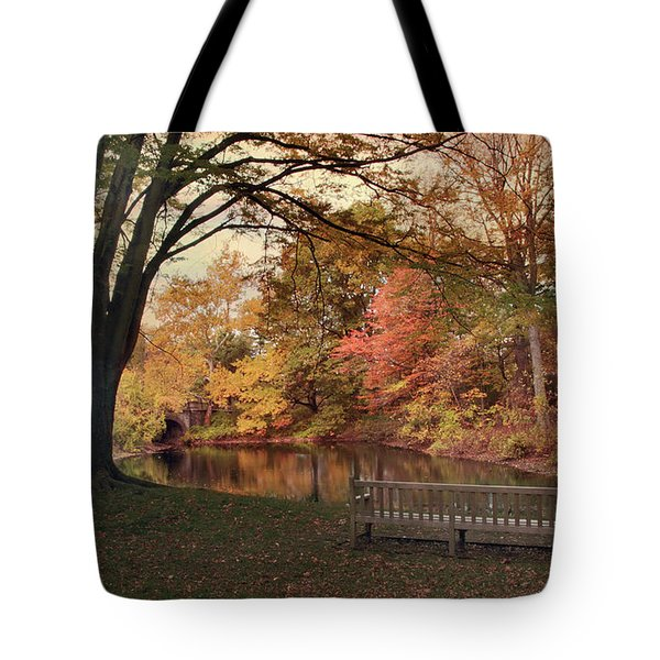 Tote Bag featuring the photograph Respite River by Jessica Jenney