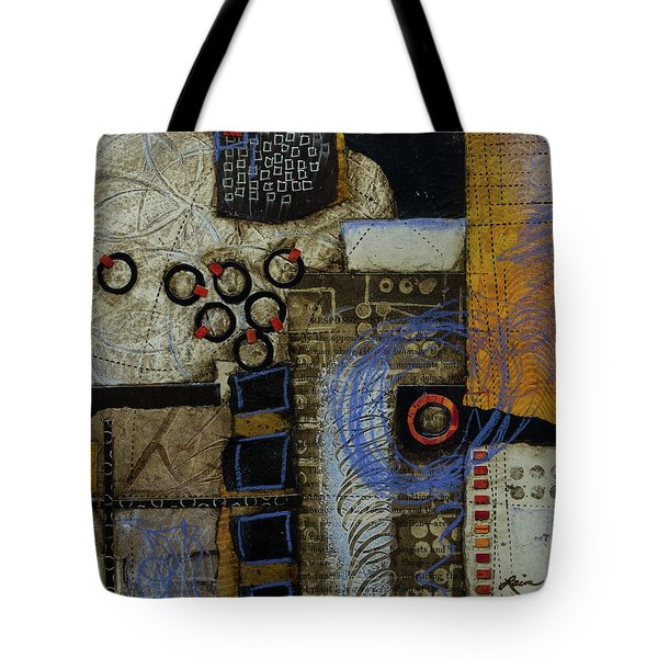 Respond To Patterns Tote Bag