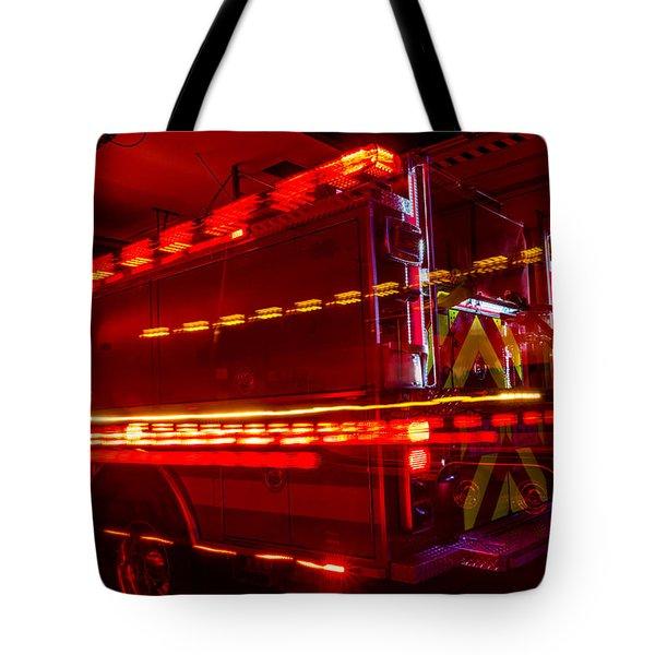 Responding Code 3 Tote Bag