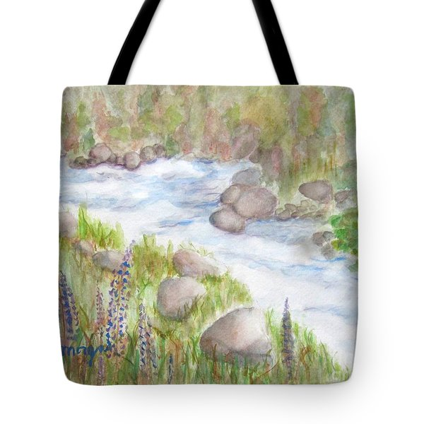 Rest By My Waters Tote Bag