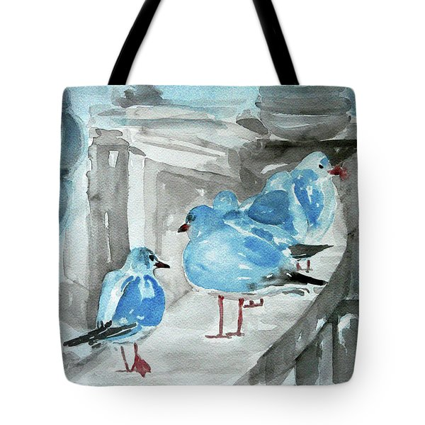 Rest By The Sea Tote Bag