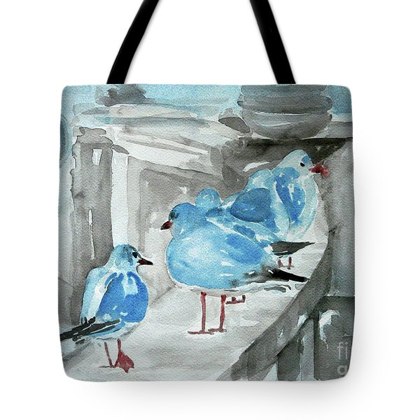 Rest By The Sea Tote Bag by Jasna Dragun