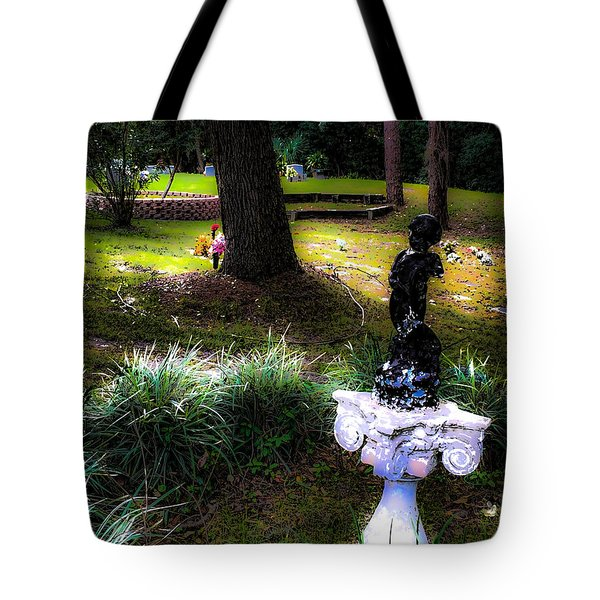 Tote Bag featuring the photograph Rest In Peace by Anthony Baatz
