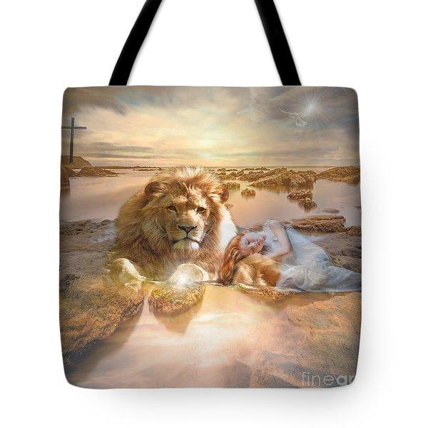 Divine Rest Tote Bag