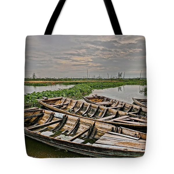 Rest Of Boat Tote Bag