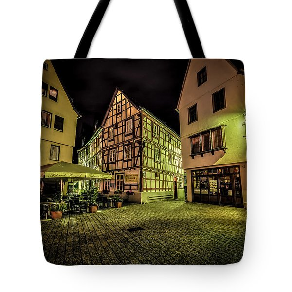 Tote Bag featuring the photograph Restaurante Roseneck by David Morefield