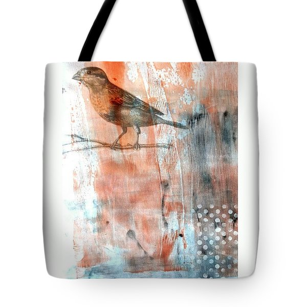 Tote Bag featuring the mixed media Restful Moment by Rose Legge