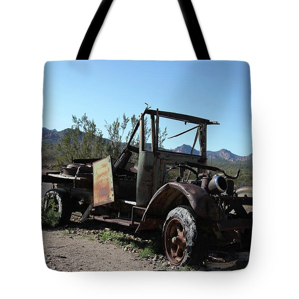 Resting And Rusting Tote Bag