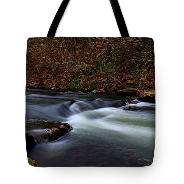Resting By The Water Tote Bag