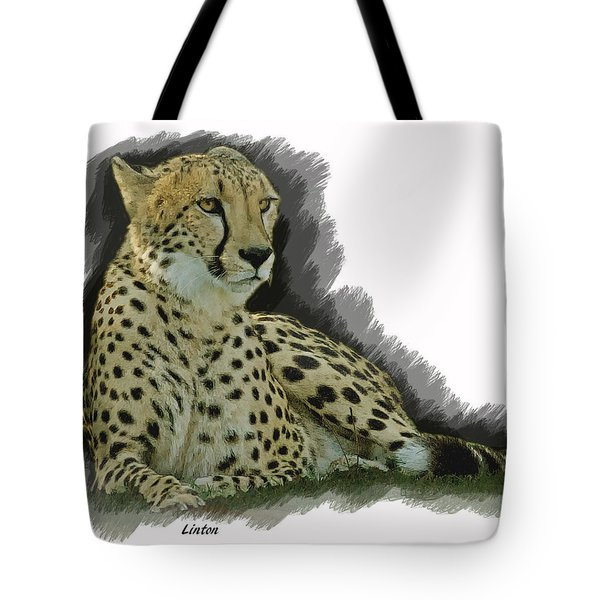 Resting Cheetah Tote Bag