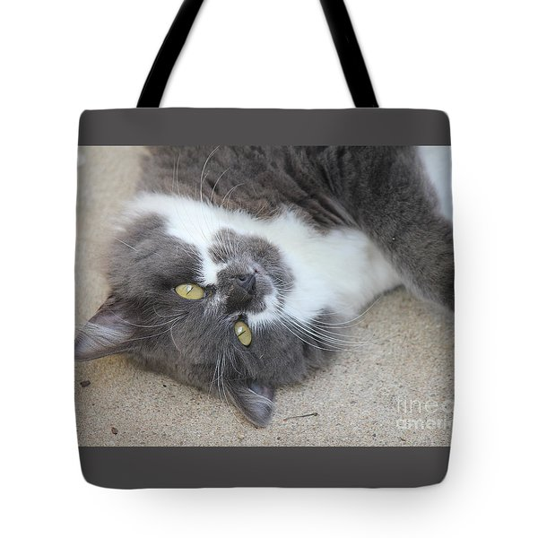 Resting Ms Mustache Tote Bag