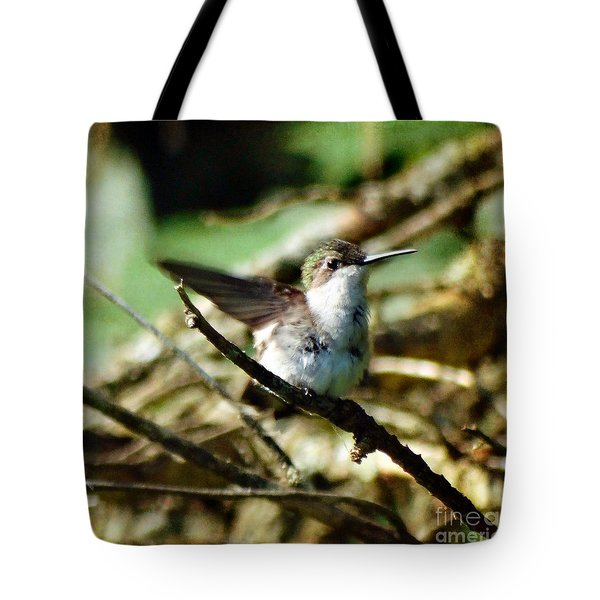 Resting Naturally Tote Bag
