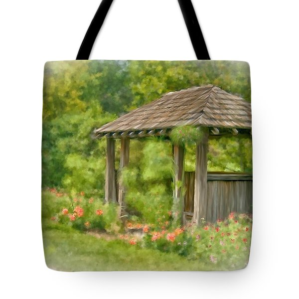 Tote Bag featuring the photograph Resting Place by Mary Timman