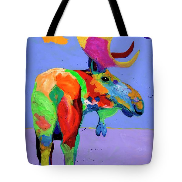 Resting Streamside Tote Bag by Tracy Miller