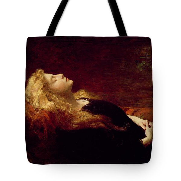 Resting Tote Bag by Victor Gabriel Gilbert