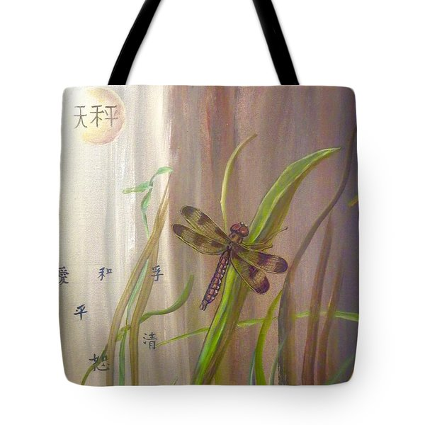 Restoration Of The Balance In Nature Cropped Tote Bag
