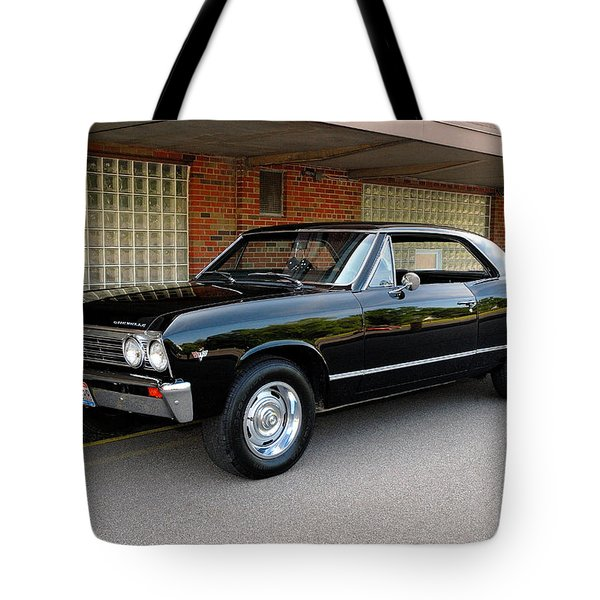 Restored Chevy Tote Bag