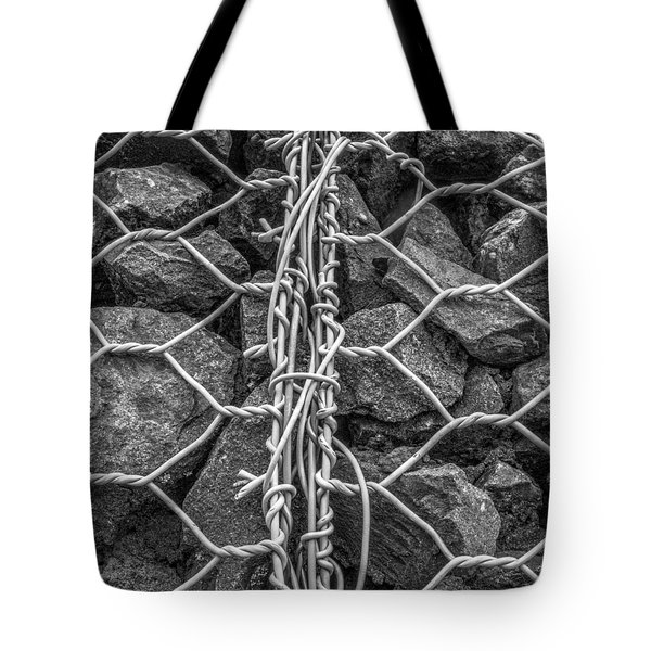Restrained Tote Bag