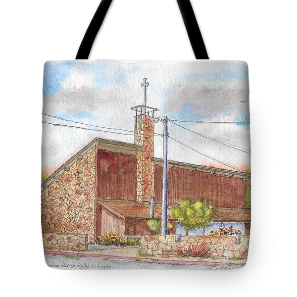 Resurrection Parish Or Zullah, Washington Tote Bag