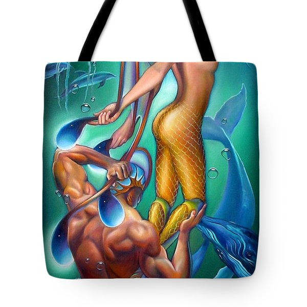 Resurrection Tote Bag by Patrick Anthony Pierson
