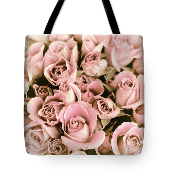 Reticent Rose Tote Bag by Jessica Jenney