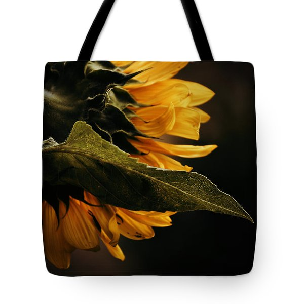 Reticent Sunflower Tote Bag