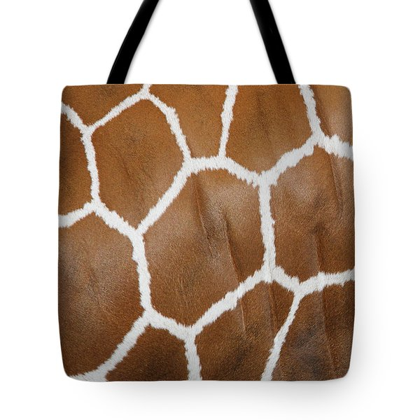 Reticulated Giraffe #2 Tote Bag