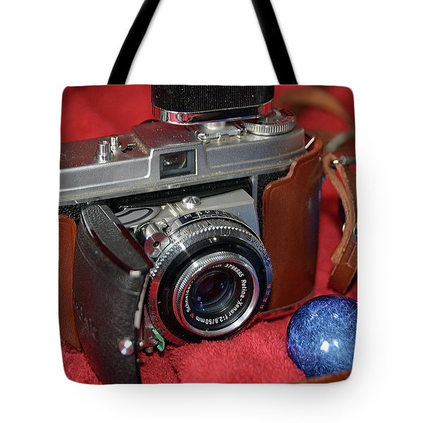Tote Bag featuring the photograph Retina by John Schneider