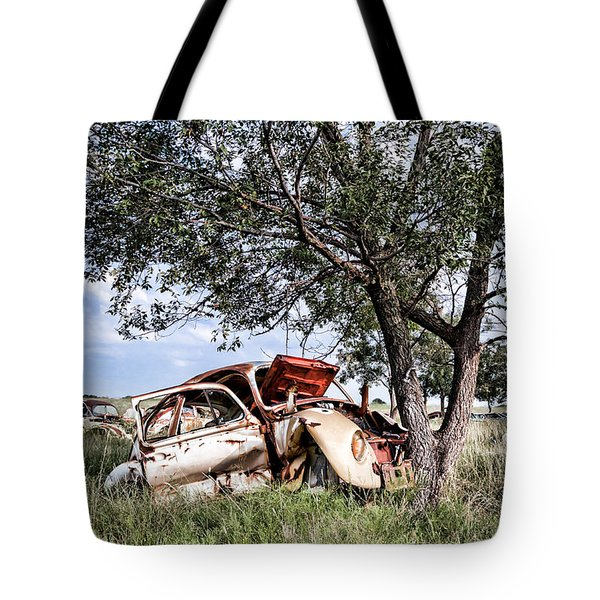 Retired Bug Tote Bag