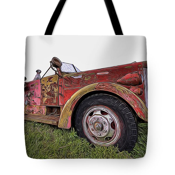Retired Hero Tote Bag
