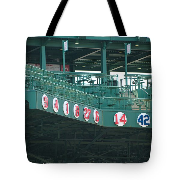 Retired Numbers Tote Bag