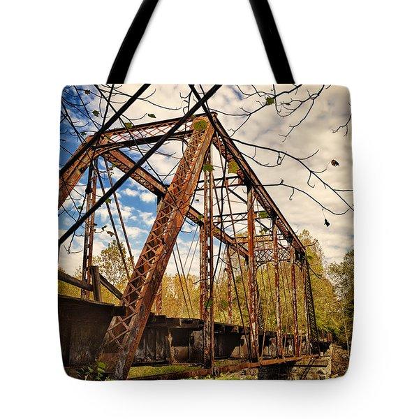 Retired Trestle Tote Bag