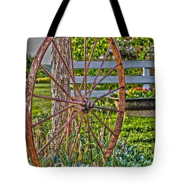 Tote Bag featuring the photograph Retired by William Norton