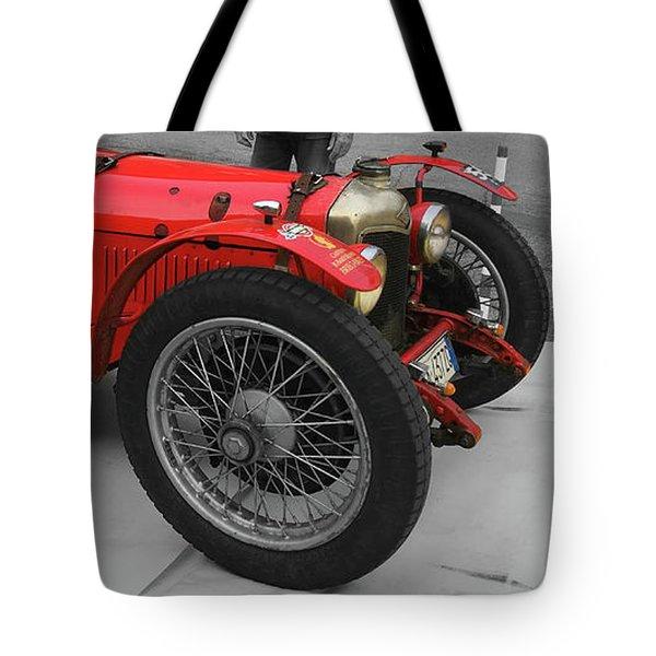 Retro Auto Fiat Balilla Tote Bag