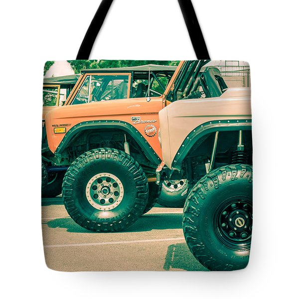 Retro Bronco Heaven Tote Bag