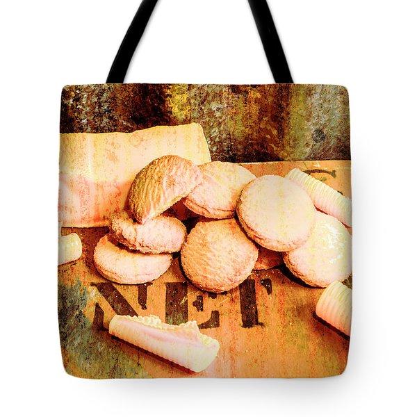 Retro Butter Shortbread Wall Artwork Tote Bag