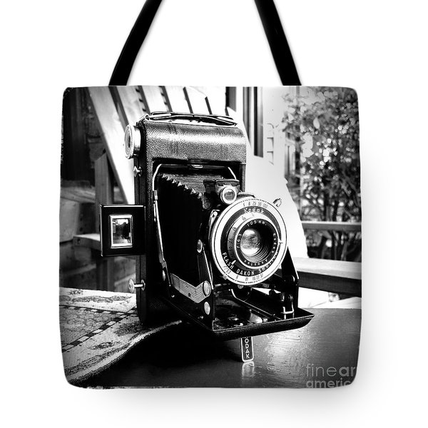 Tote Bag featuring the photograph Retro Camera by Daniel Dempster