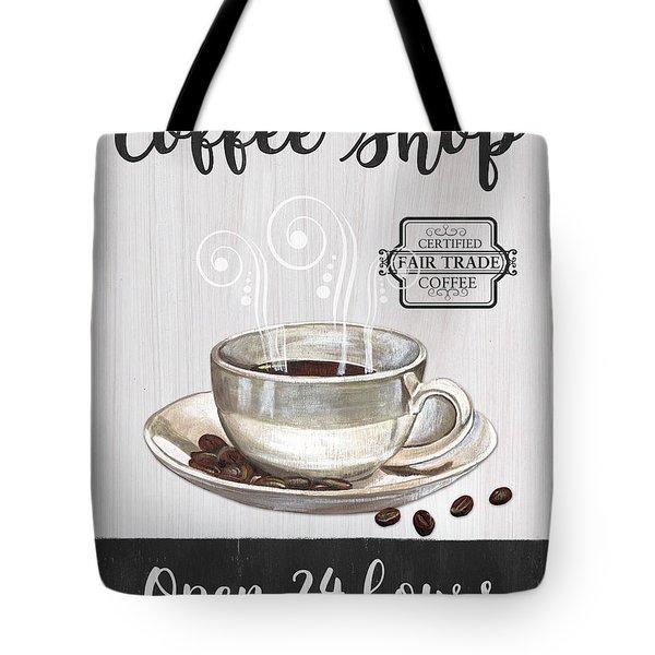 Retro Coffee Shop 1 Tote Bag