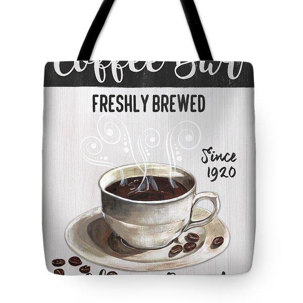 Retro Coffee Shop 2 Tote Bag