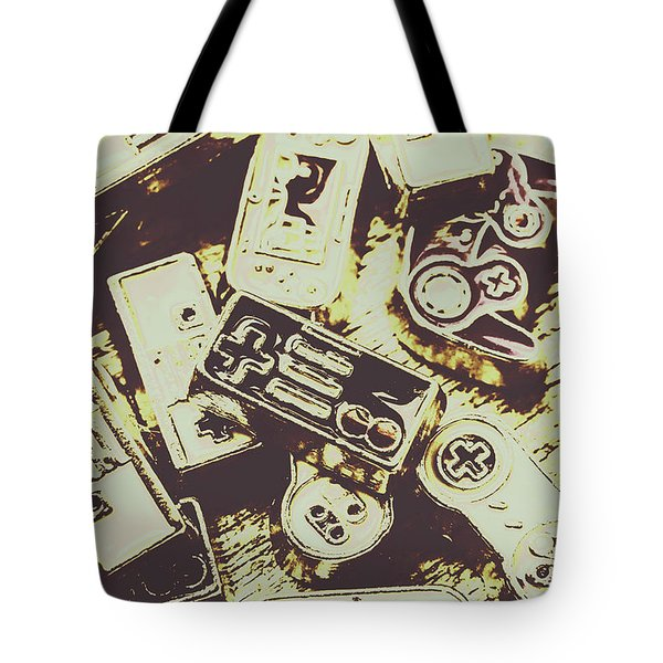 Retro Computer Games Tote Bag