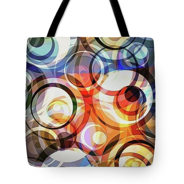 Retro Dimensions Tote Bag
