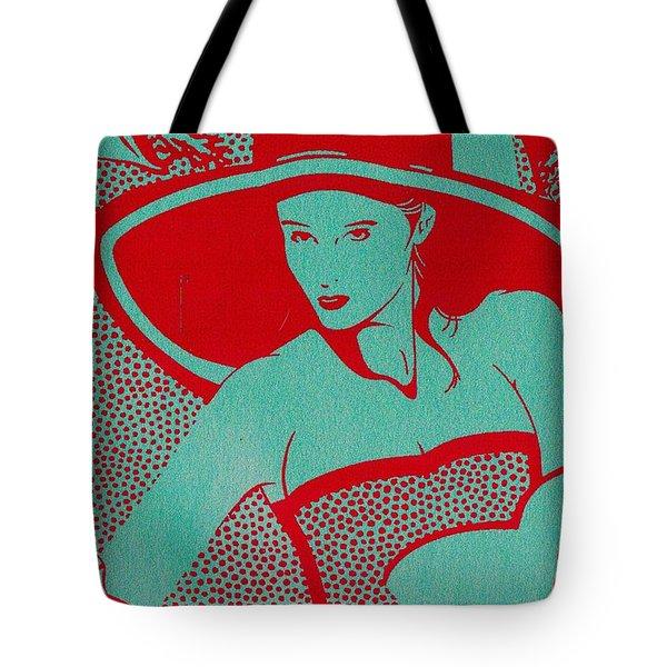 Retro Glam Tote Bag