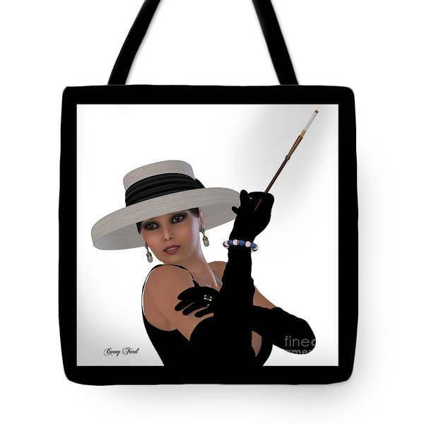 Retro Hollywood Glamour Tote Bag