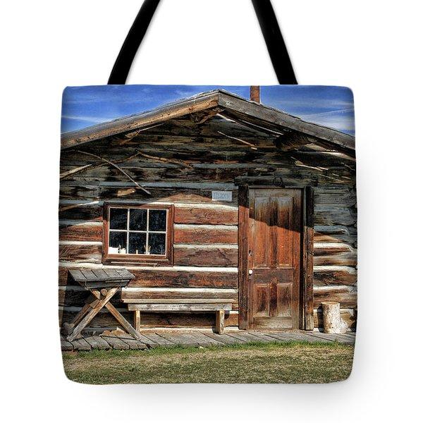Retro Home Tote Bag