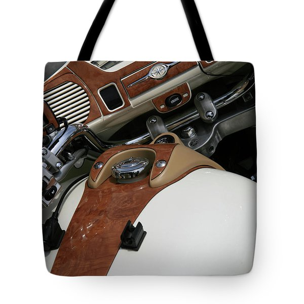 Retro Look Tote Bag