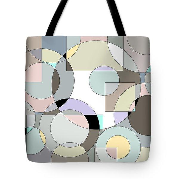 Retro Pastels  Tote Bag