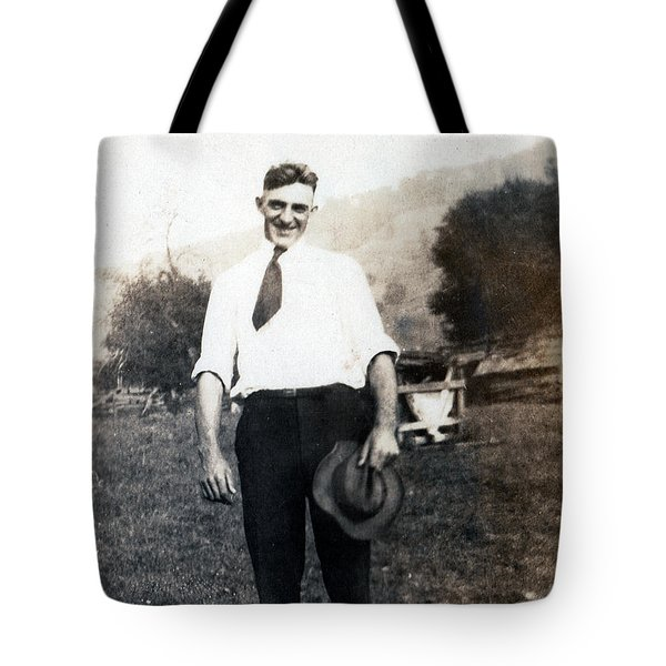 Tote Bag featuring the photograph Retro Photo 01 by Rick Baldwin