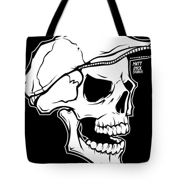 Retro Skull Tote Bag